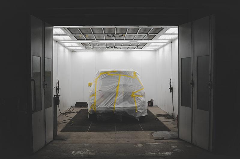 Fahrzeuglackierung-Autolackierung